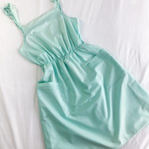 Vintage 1980s Mint Sundress