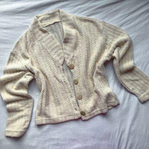 Vintage Stone Coloured Cardigan